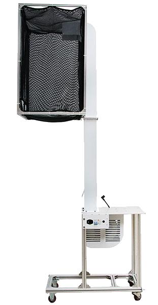 Das activaAir Blow in System ist eine automatische Vorrichtung für die activaAir Luftpolstermaschine. Mir Ihrer Hilfe wird der Verpackungsprozess vereinfacht und beschleunigt. Die Vorrichtung wurde so konstruiert, dass das Verpacken der Ware in Kartons von oben stattfinden kann. Dies geht einerseits schneller und ist noch schonender für den Rücken. Masse des Auffangbehälter: 900mm x 600mm x 900mm Dieses vielseitige und benutzerfreundlicheactivaAir Blow-in-System gewährleistet eine ununterbrochene, direkte Versorgung der Verpackungsstation mit gebrauchsfertigen Luftkissen und spart somit kostbaren Lagerplatz. Ergonomische und flexible Lösung DasactivaAir Blow-in-System ist höhenverstellbar und lässt sich problemlos an einem anderen Ort platzieren. Der Behälter verfügt über mehrere Eingriffsöffnungen, welche die gleichzeitige Benutzung mehrerer Anwender ermöglicht. Die ununterbrochene Zufuhr wird mit Hilfe der sensorgesteuerten Produktion von Luftkissen gewährleistet. Verpackungsmaterial ist somit stets verfügbar (bis 1 m3). Platzsparend Dank der kleinen Fläche (90 cm x 60 cm), kann dasactivaAir Blow-in-System unmittelbar an bzw. hinter einem Packtisch oder Fliessband aufgestellt werden, kostbarer Platz wird gespart. Schnelle Installation In weniger als einer halben Stunde ist das activaAir Blow-in-System einstatzbereit. Luftkissen können herkömmliches Verpackungsmaterial, wie Noppenfolie, Papier oder Schaum ersetzen. Luftkissen von OZG sind zu 100 % recyclefähig und wiederverwendbar.